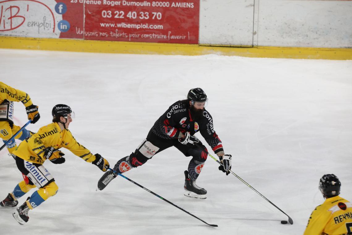 Les Gothiques d'Amiens cèdent contre Rouen