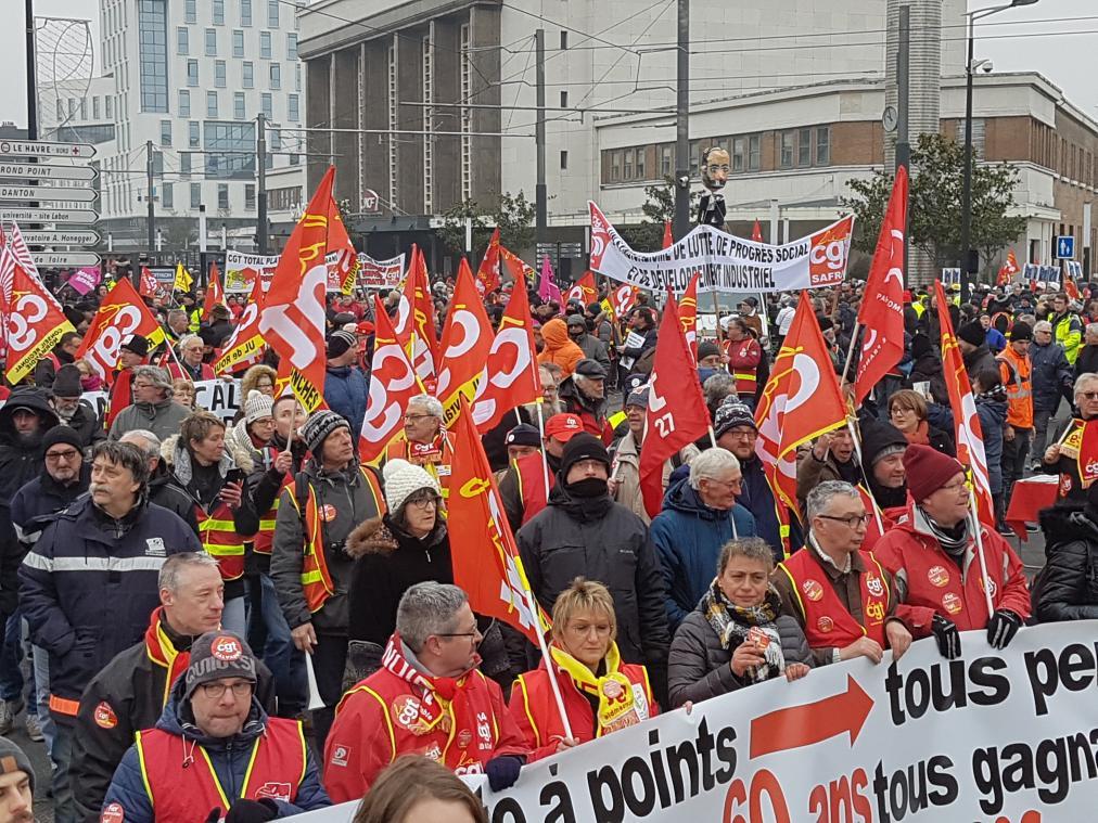 La CGT espère mobiliser plusieurs centaines de personnes lundi 22 mars à Rouen. (Photo d'illustration PN)