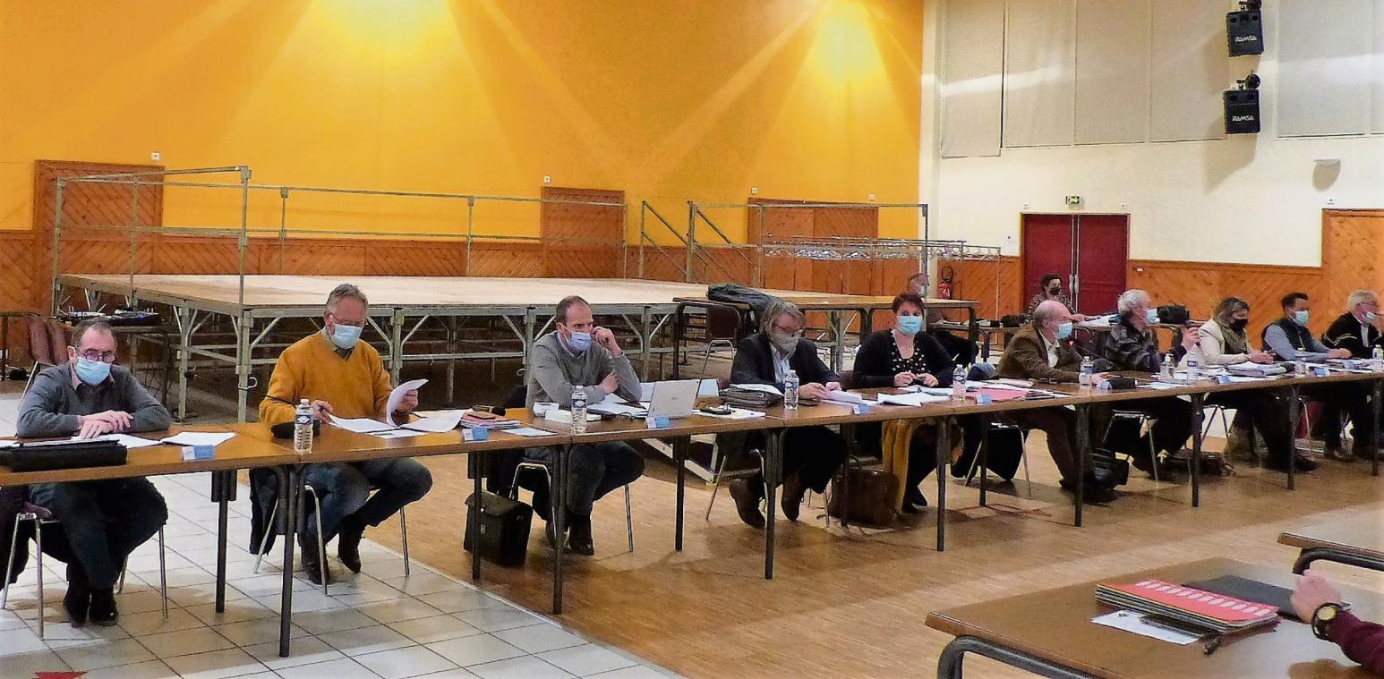 Les vice-présidents ont présenté les orientations budgétaires de leurs compétences. (Photo PN)