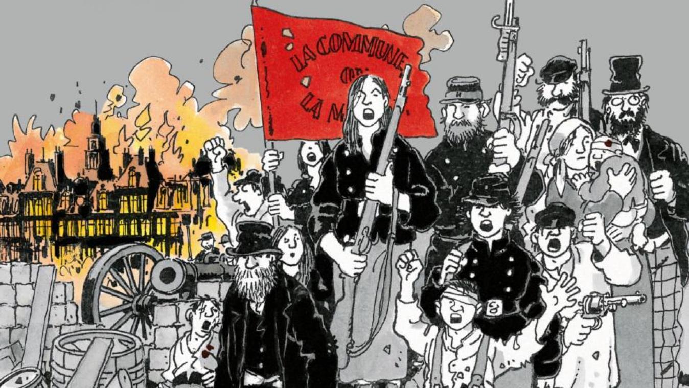 La Commune n'est pas morte… en bande dessinée