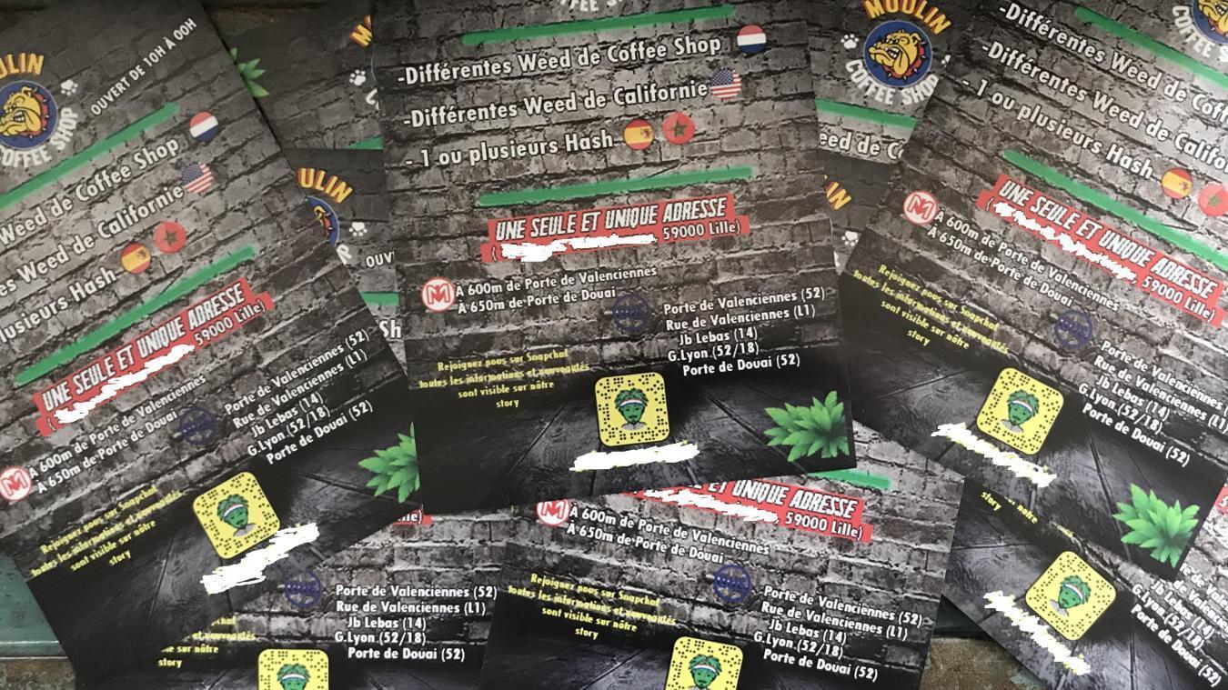 Des tracts ont été déposés dans les boîtes aux lettres des Lillois... et de la police aussi.