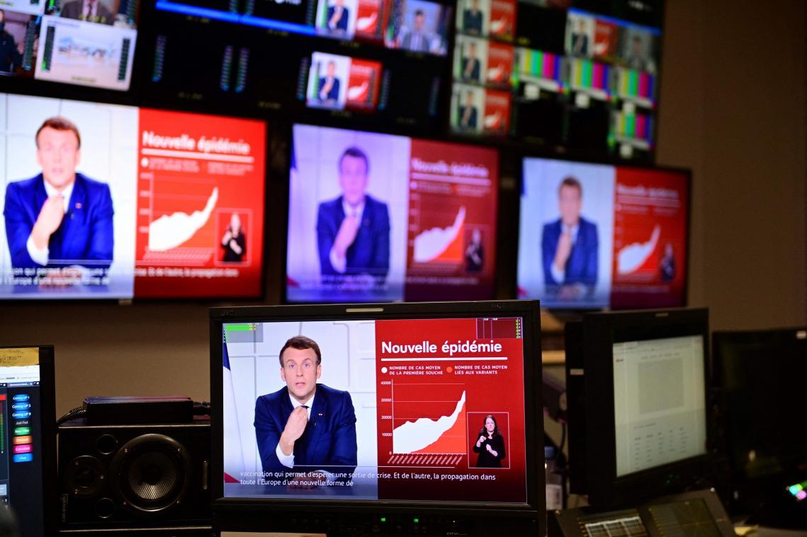 Emmanuel Macron est revenu en détail sur les nouvelles mesures effectives à partir de vendredi 2 avril 2021