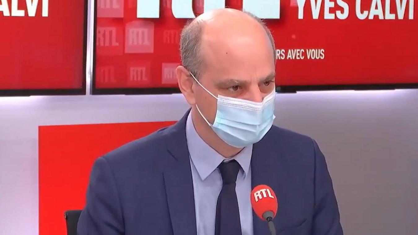 Jean-Michel Blanquer, ministre de l'Éducation s'est exprimé jeudi 1er avril sur RTL.