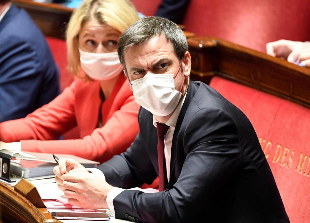 Selon Olivier Véran, le pic épidémique en réanimation pourrait être atteint «fin avril»