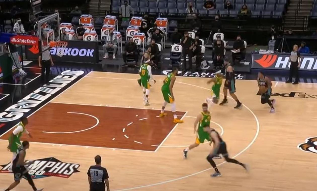 Utah et Gobert arrachent la victoire à Memphis, 24 heures après leur atterrissage d'urgence (VIDEO)