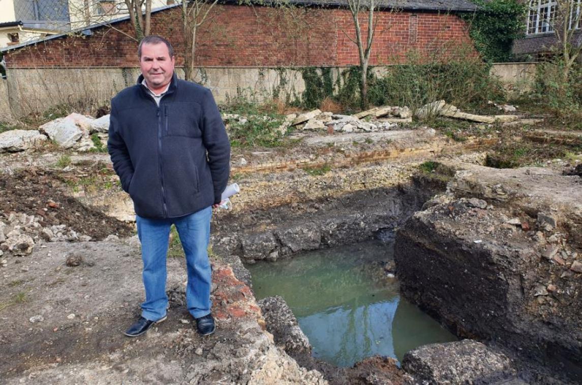 Une ancienne tannerie mise en évidence par des fouilles préventives à Lillebonne