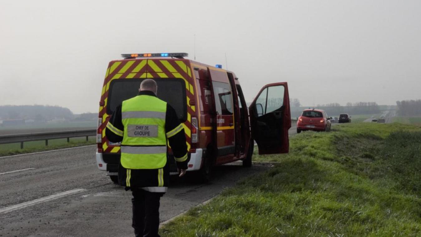 L'accident s'est produit ce jeudi 1er avril, à 10h30, sur la D1.