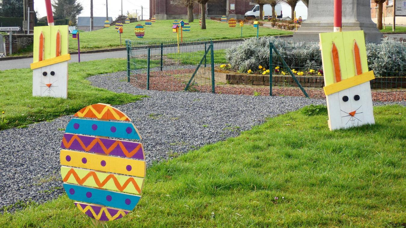 Un air de Pâques à Esmery-Hallon