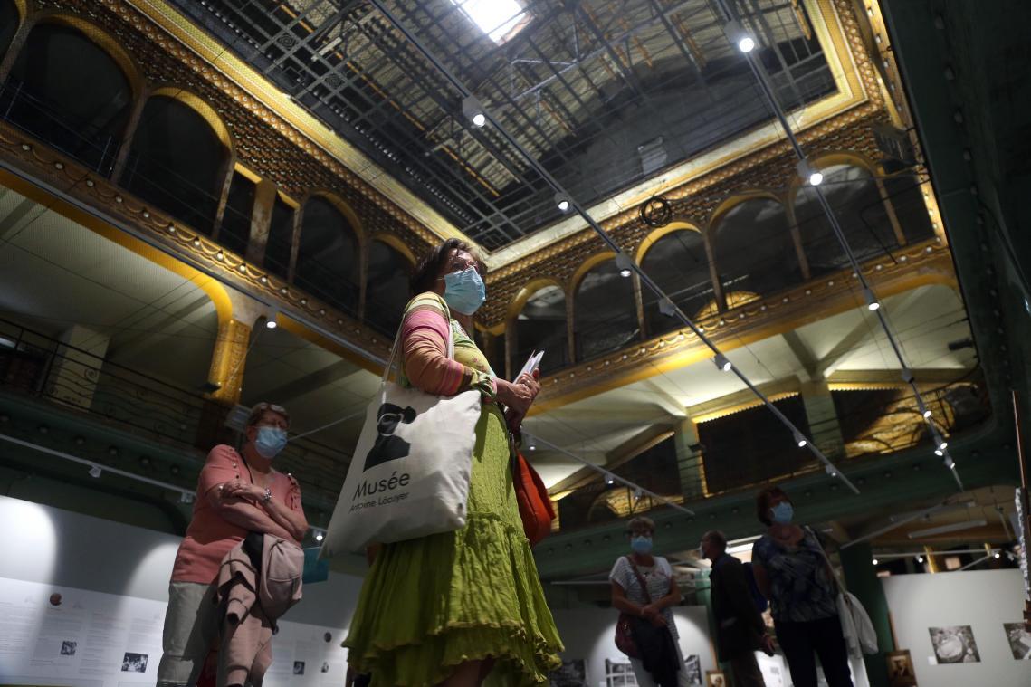 La Ville mise beaucoup sur le palais de l'Art déco, les anciennes Nouvelles galeries, pour attirer des touristes.