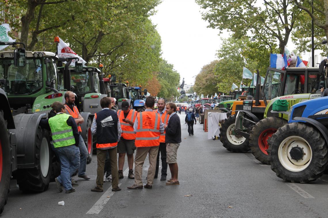 Défilé de tracteurs contre la nouvelle politique agricole commune (PAC) ce vendredi sur les routes de l'Aisne