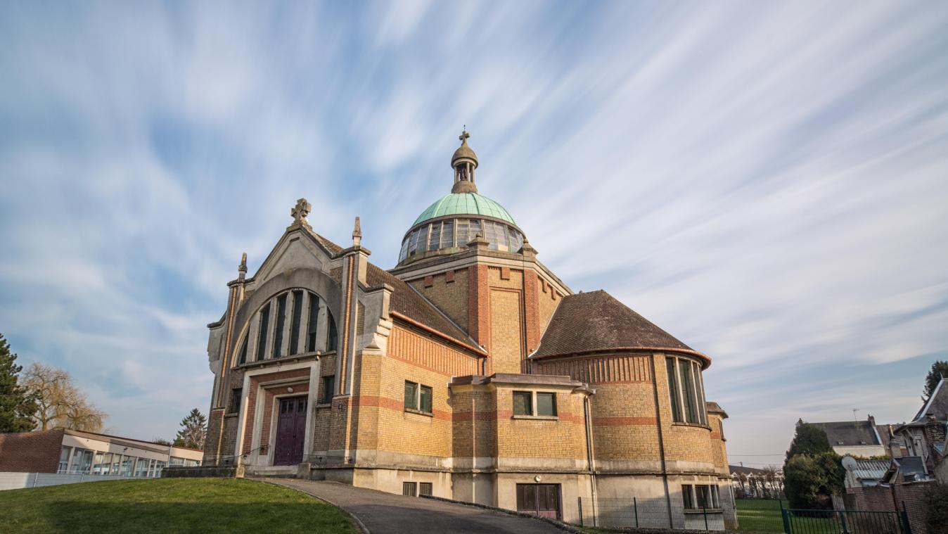 L'église saint-quentinoise Sainte-Thérèse est une des 45 photos de l'exposition «Objectifs Art déco» présentée à Saint-Quentin puis en Picardie (© Pierre Cottret)