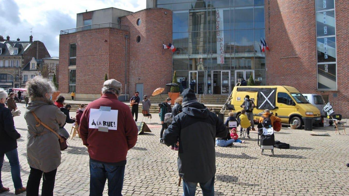 Les manifestants avaient rassemblé près de 70 sympathisants, samedi dernier.