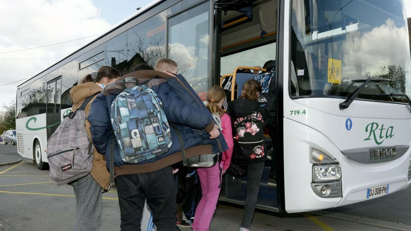 Les transports scolaires suspendus à partir du lundi 5 avril dans les Hauts-de-France
