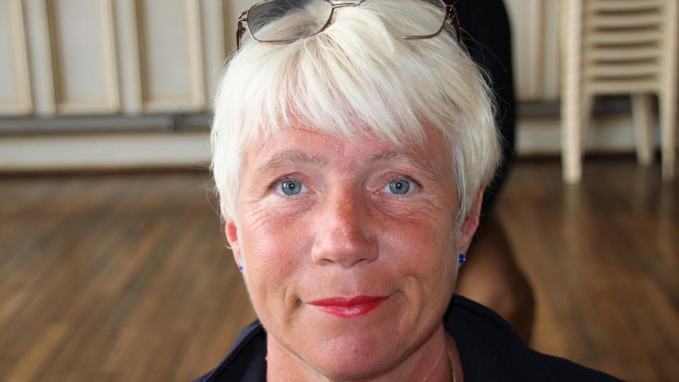 Christelle Parant, élue à Bohain-en-Vermandois depuis un an sur la liste du maire, Yann Rojo, binôme de Philippe Torre