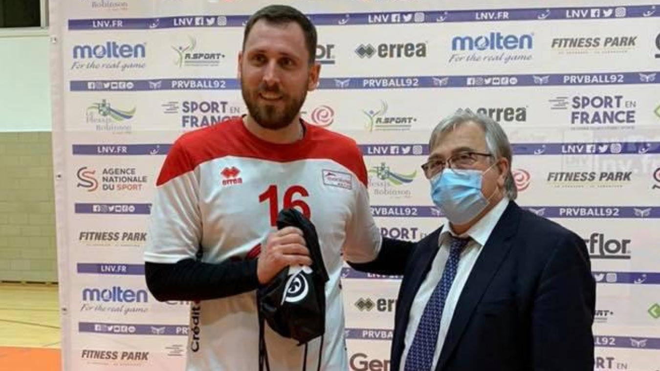 Maxime Mourier arrive en provenance de Martigues, club de Ligue B.