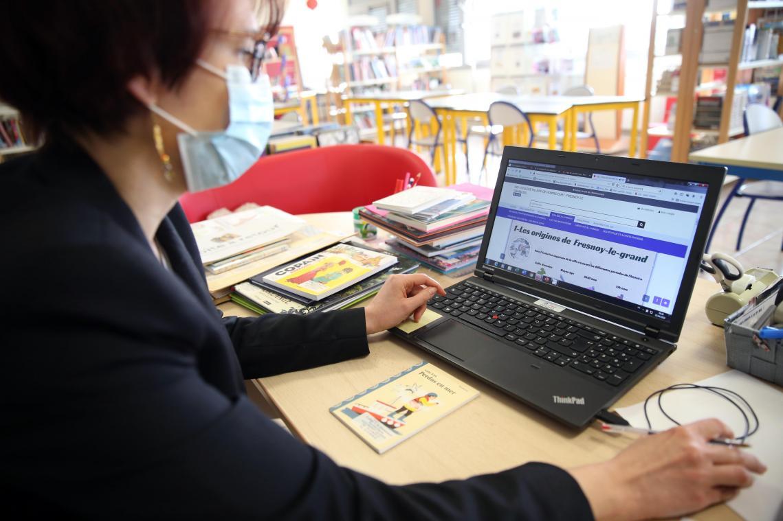Le principal objectif pendant cette période de travail à distance sera de ne pas perdre le lien entre enseignants et élèves.