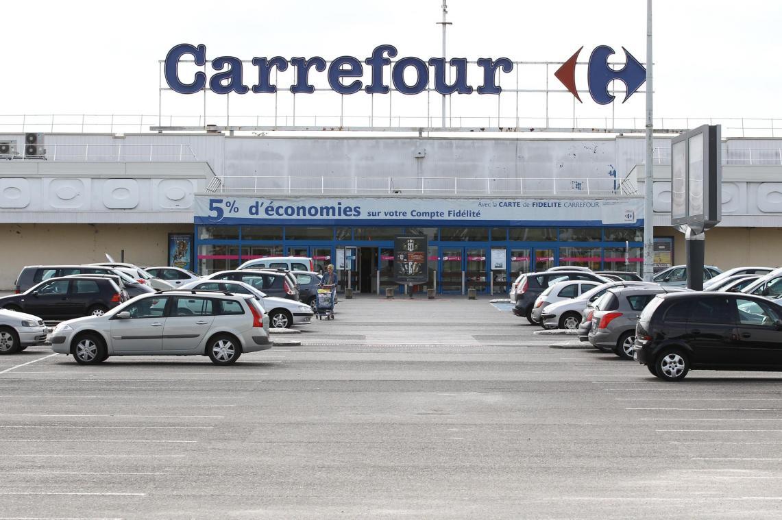 Un appel à la grève a été lancé dans les magasins Carrefour pour ce week-end de Pâques.