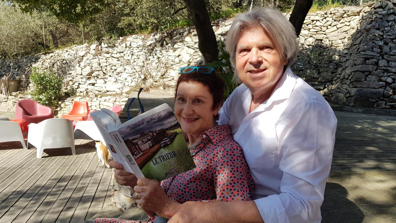 Philippe Cany, 62 ans, a choisi le cadre de Pont-l'Évêque, où il a vécu étant enfant, pour le roman écrit avec son épouse, Claudine.