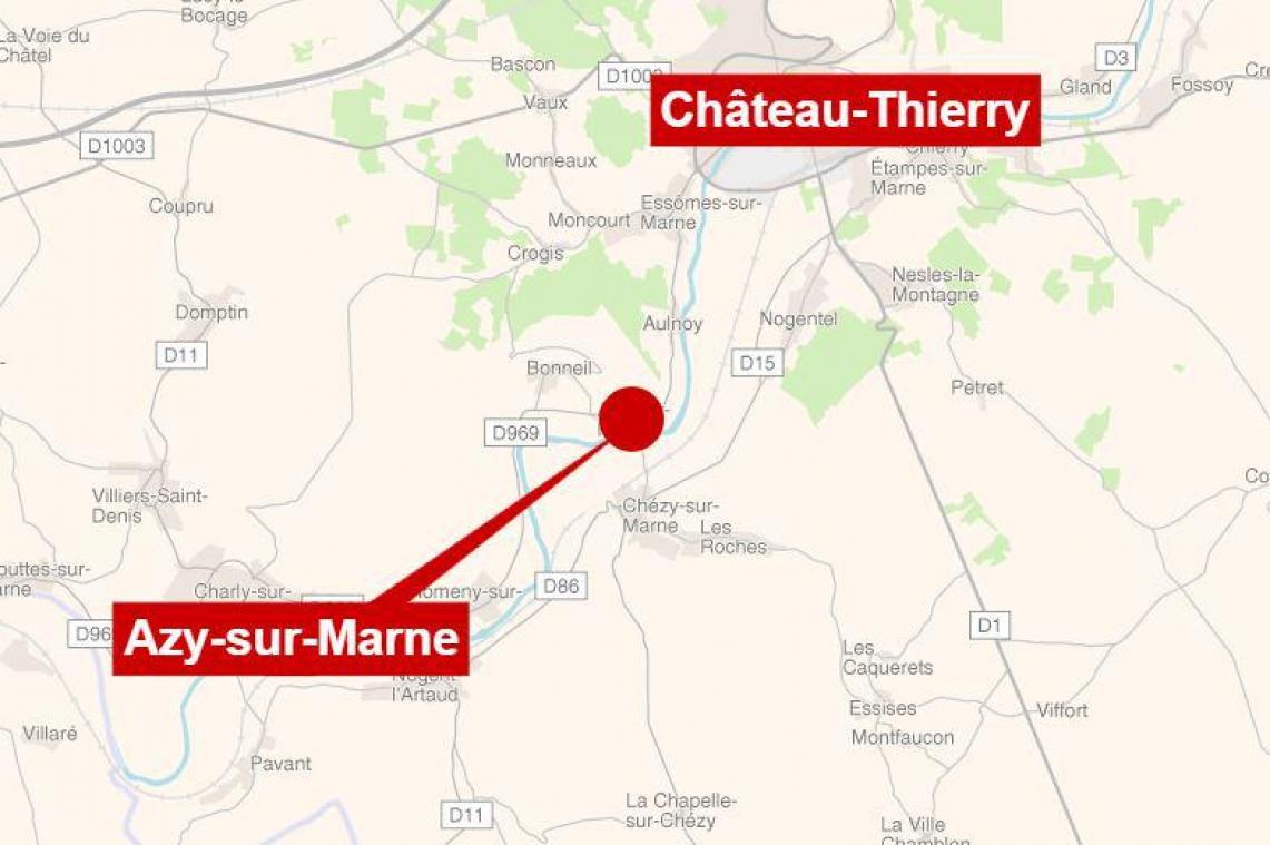 Les gendarmes de Noyon trouvent un corps près de Château-Thierry