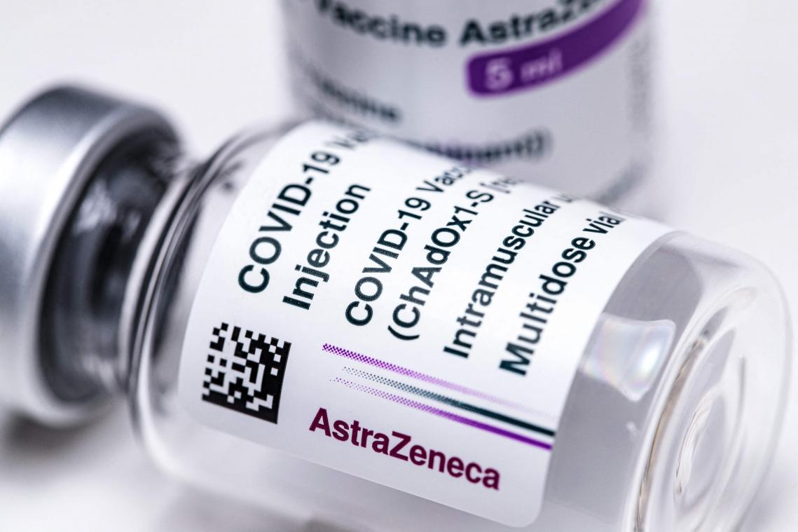 Les doses d'AstraZeneca sont restées sur le carreau.