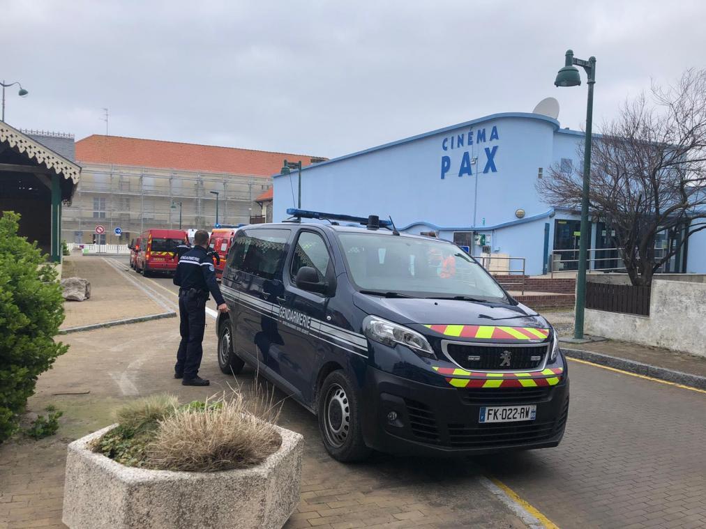 Les gendarmes de la compagnie d'Abbeville vont tenter d'identifier les 23 migrants retrouvés ce dimanche matin sur la plage.