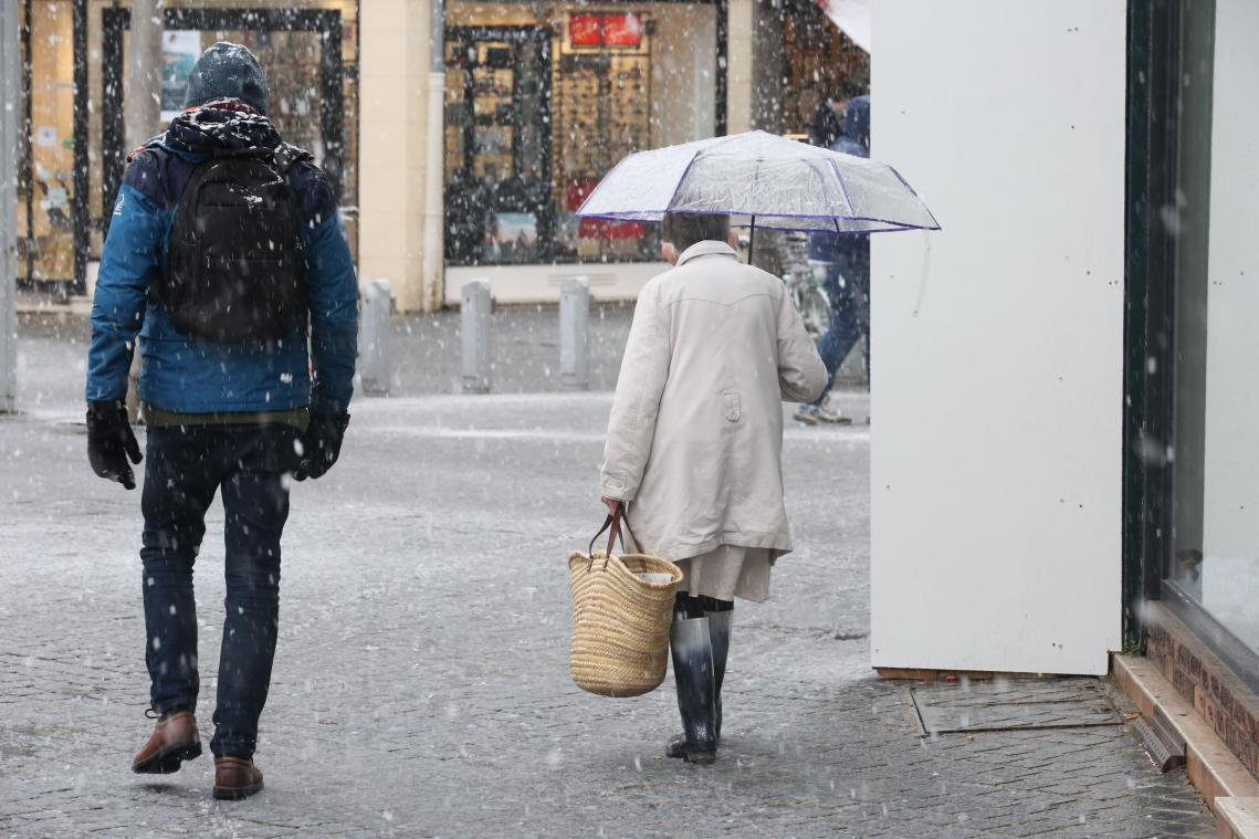 De la neige est prévue mardi en Picardie.