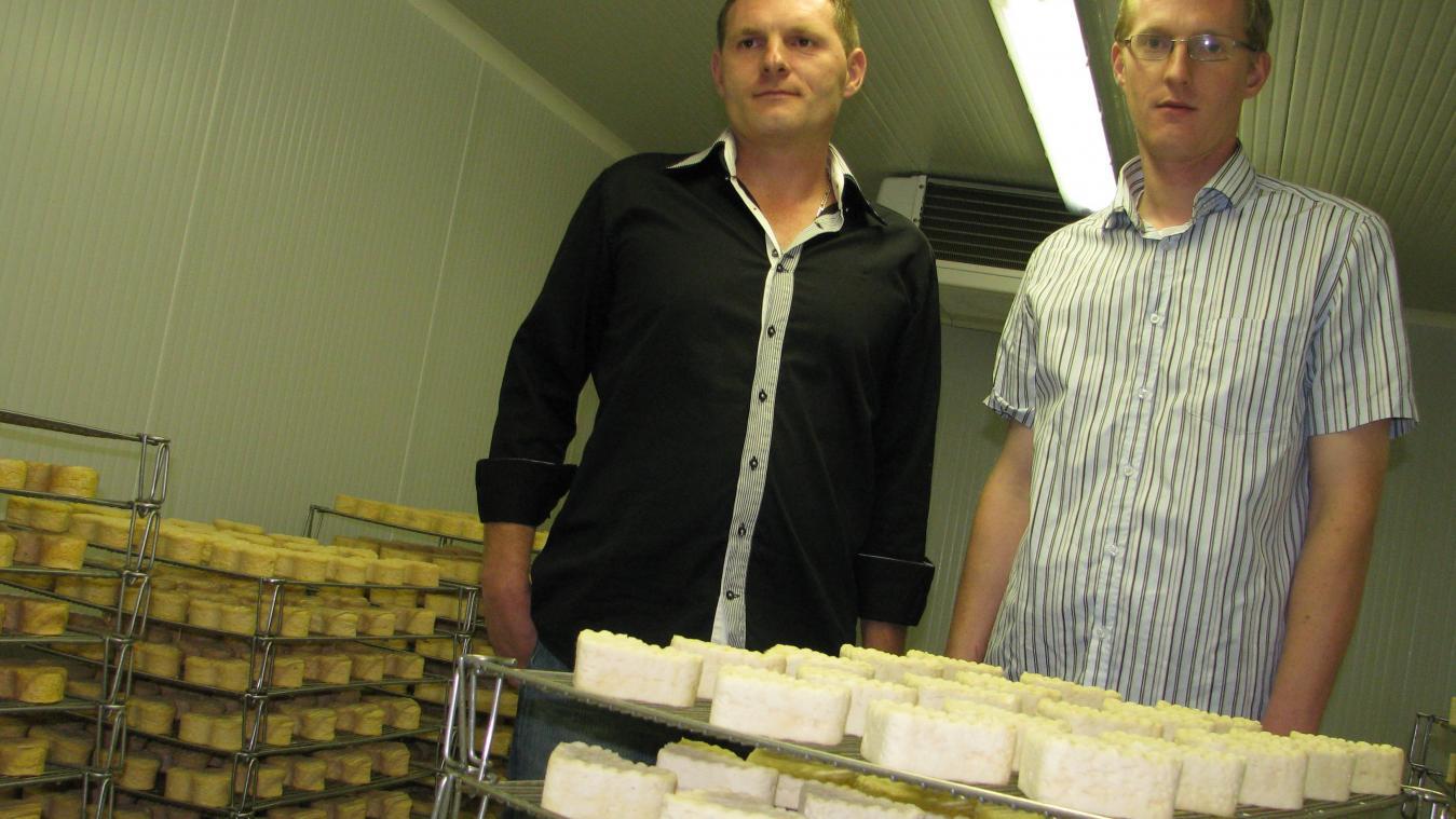 La ferme laitière Defossé, à Guiscard, participera au nouveau label défendant les filières locales.