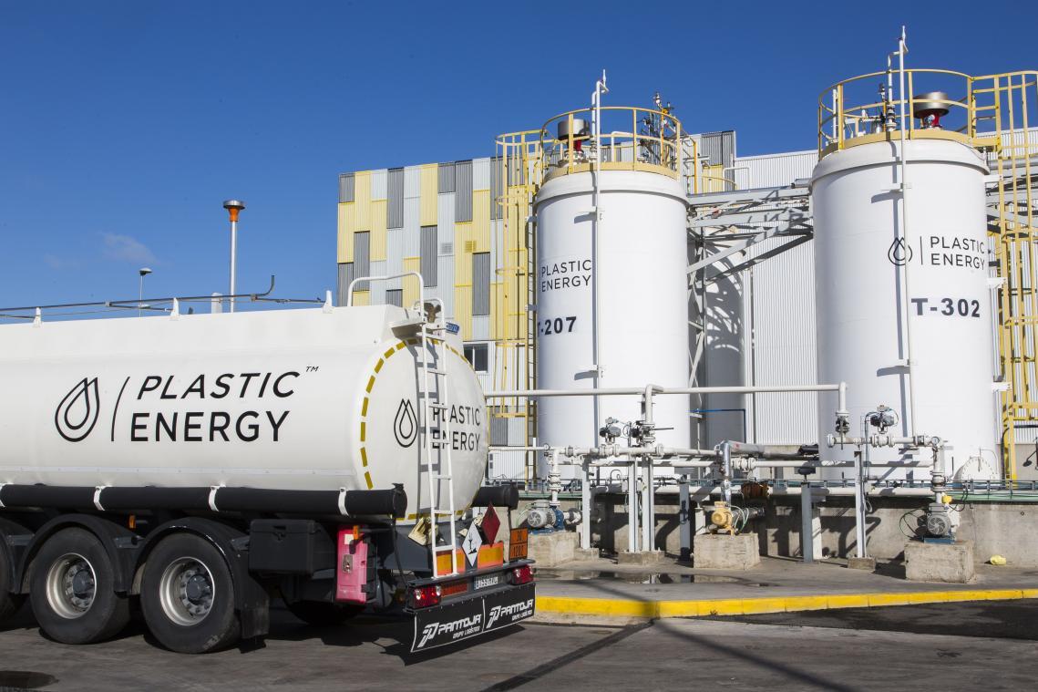 Le futur site de Plastic Energy à Port-Jérôme pourrait recycler jusqu'à 33 000 tonnes de déchets plastiques par an. (Photo Plastic Energy)