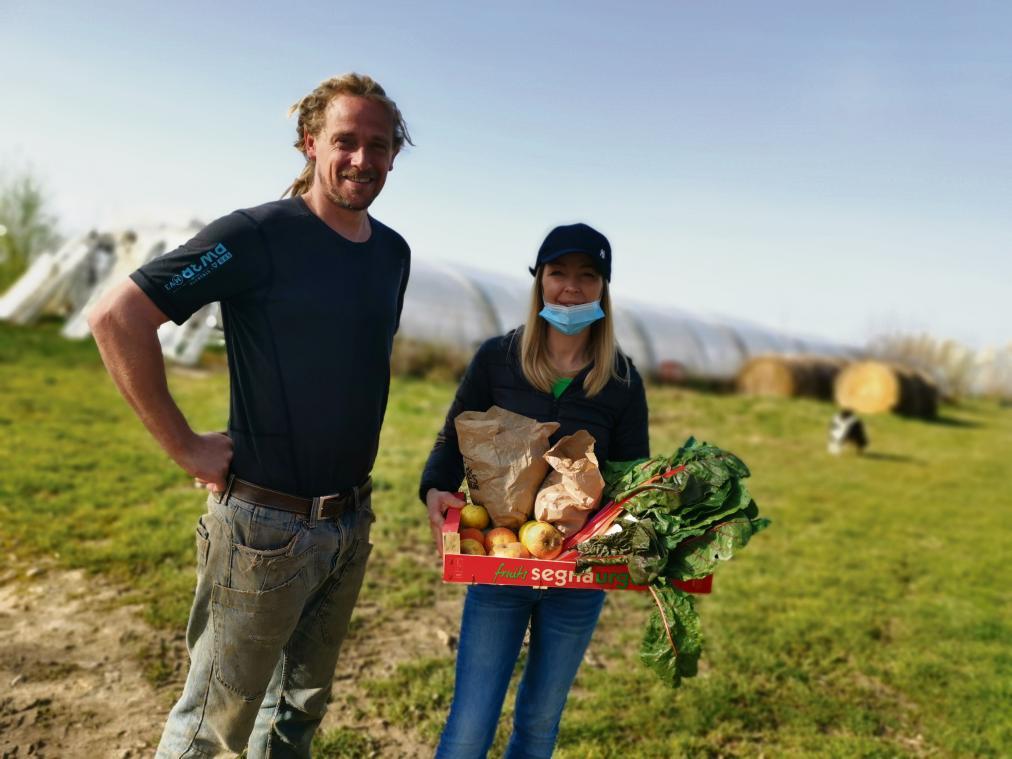 Dans l'Eure, une petite commune lance un partenariat avec une ferme bio pour livrer des paniers