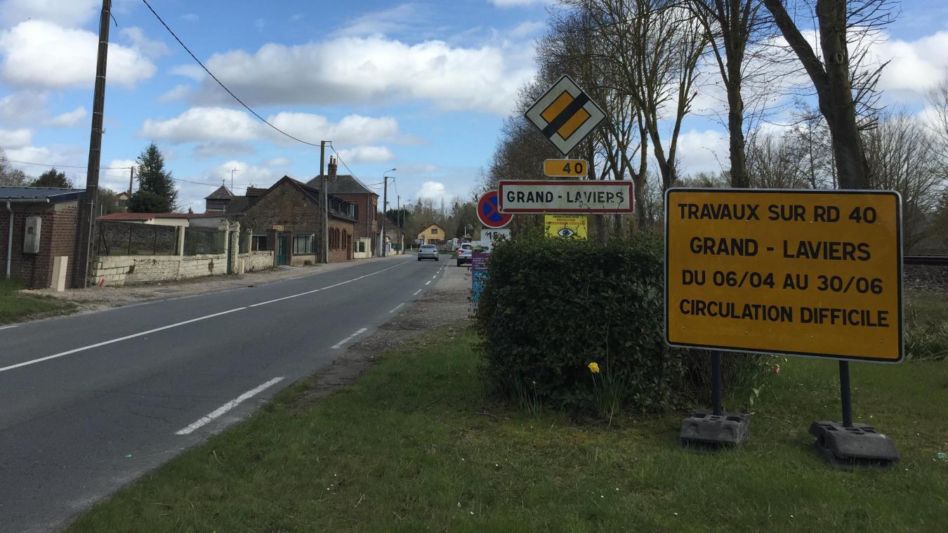 Les travaux démarrent le 6 avril, au carrefour de Grand-Laviers.