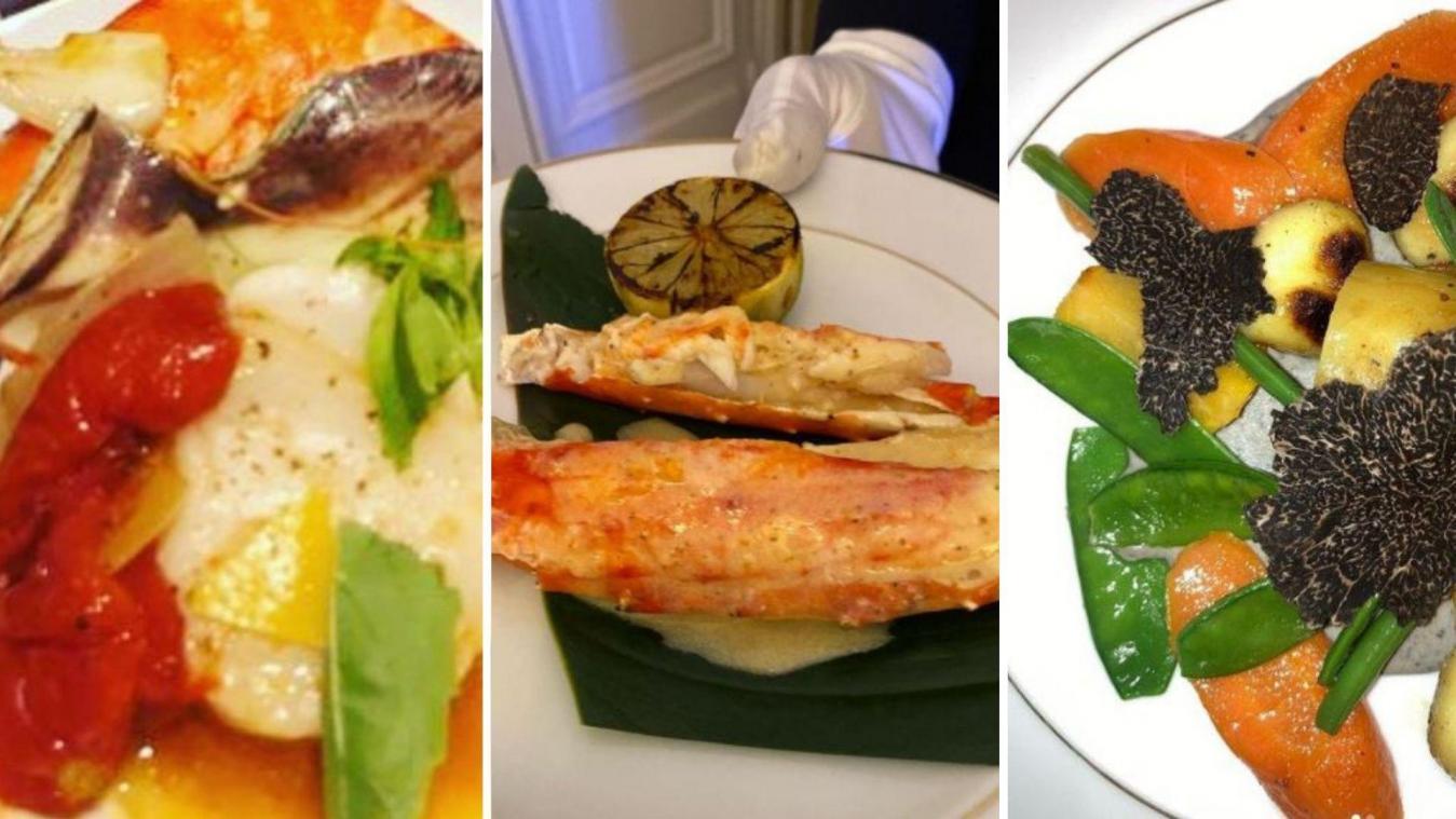Christophe Leroy est moqué par les internautes sur la qualité de sa cuisine qui se veut haut de gamme.