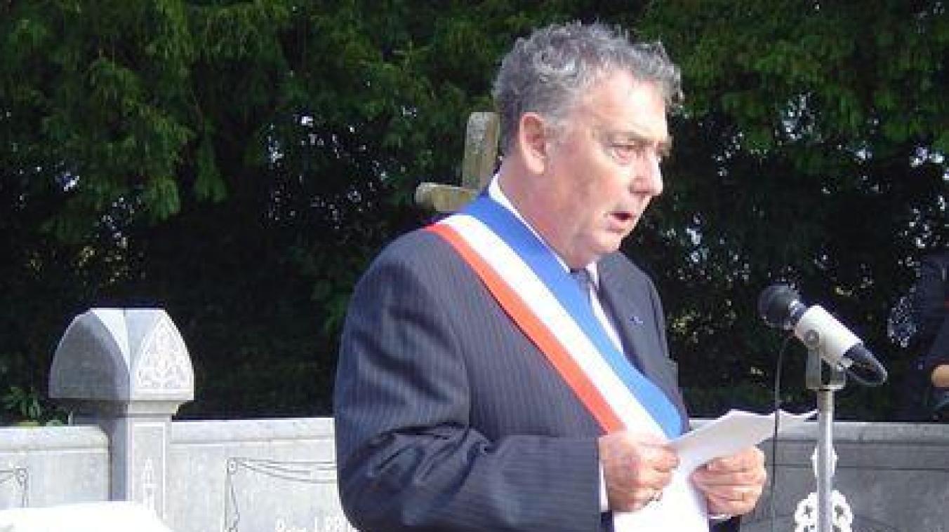 Luc Dromas aura passé vingt ans de sa vie au service de la population.