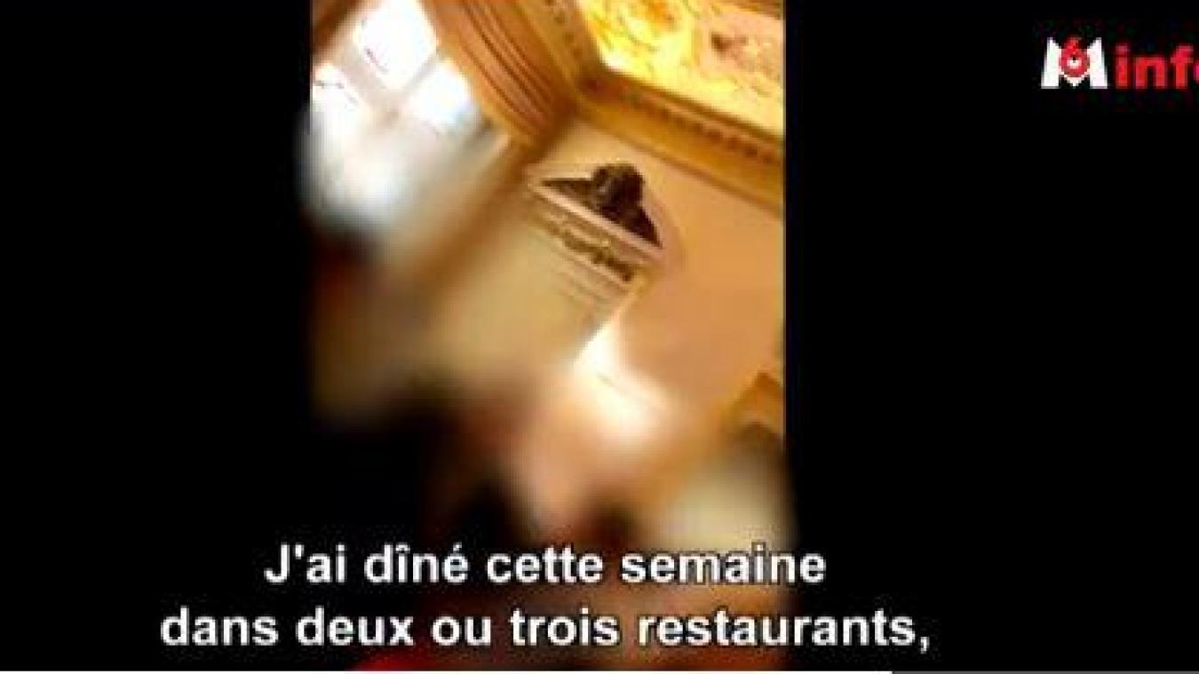 Capture d'écran de la séquence du reportage de M6 qui a déclenché la polémique.