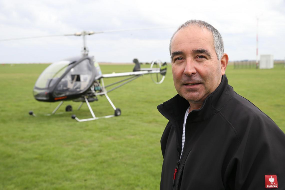 Régis Aubard ne peut plus proposer de vols à la clientèle, une situation éprouvante pour lui et sa société.