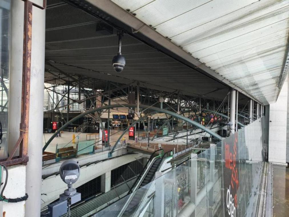 Les gares Lille-Flandres et Lille-Europe évacuées ce mardi matin après une alerte attentat