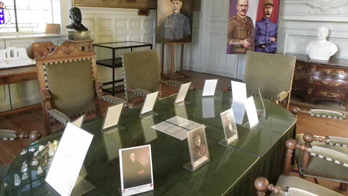 La mise en valeur de la salle où, le 26 mars 1918, les chefs alliés civils et militaires désignèrent le général Foch comme chef unique des armées, s'inscrit dans un Circuit du Souvenir de l'arrière-front 14-18.