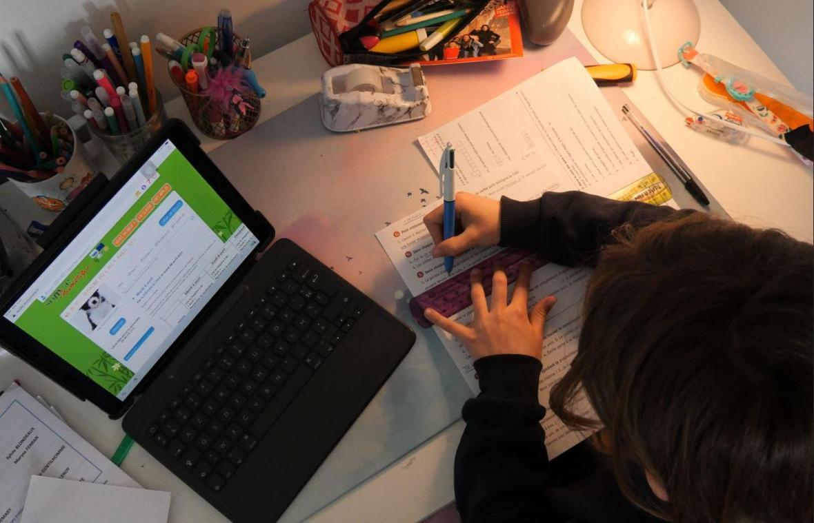 A l'occasion du troisième confinement, de nombreux élèves picards retrouvent les joies de l'école à la maison et de l'Espace numérique de travail (ENT).