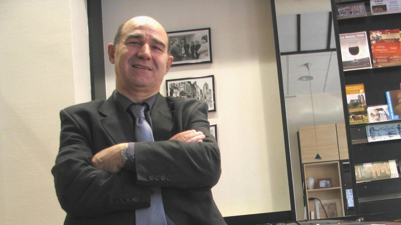 Joachim Gomes a sollicité l'investiture LR pour les élections dans le canton de Noyon-Guiscard.