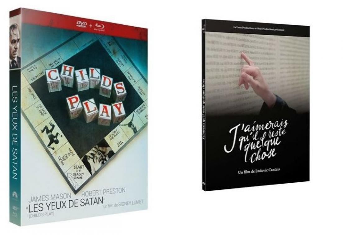 La sélection DVD de la rédaction : « Les yeux de Satan » et « J'aimerais qu'il reste quelque chose »