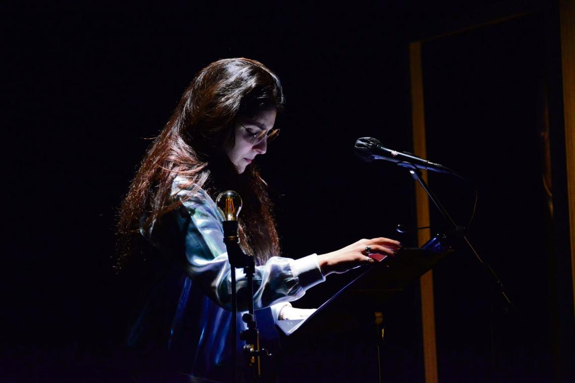 Laëtitia Botella, comédienne et metteure en scène de la compagnie Les Nuits Vertes. (Photo DR)