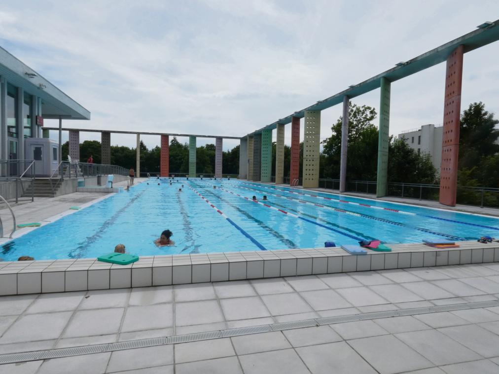 La piscine Caséo reste fermée au public. (Photo PN)