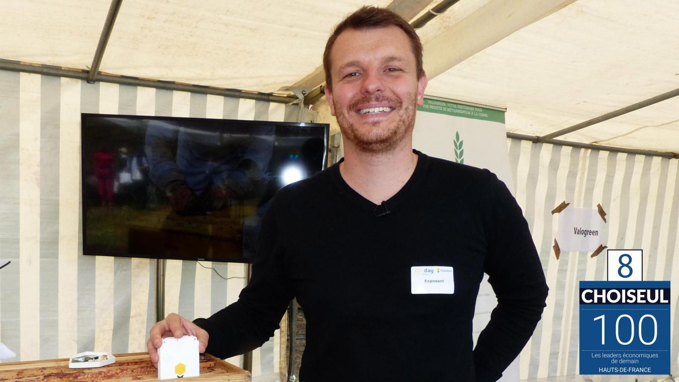 Classement Choiseul: Maxime Mularz et les ruches connectées Hostabee