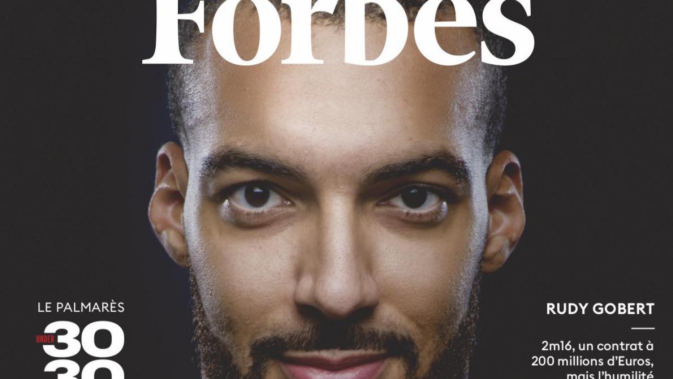 La une du magazine Forbes.