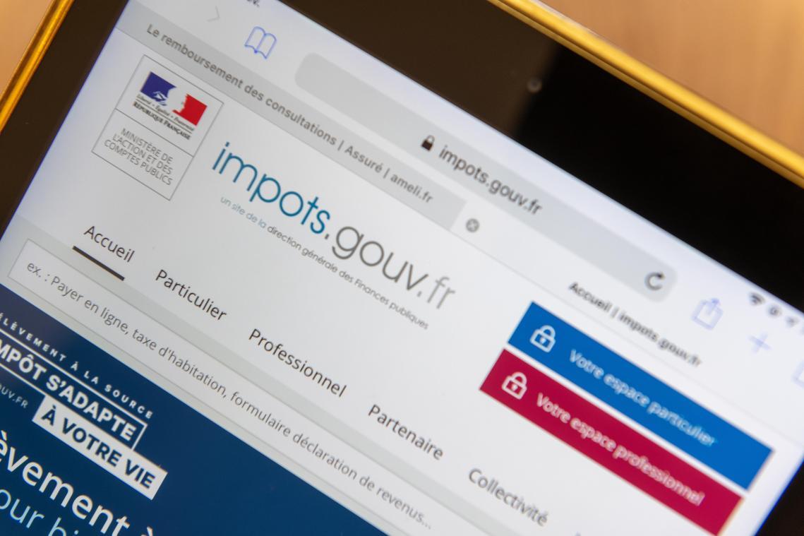 La déclaration d'impôt doit en priorité se faire sur le site internet ou l'application