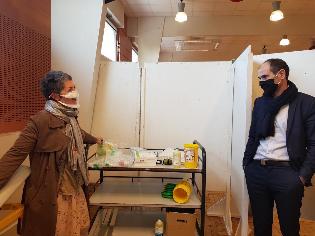 Le centre de vaccination a ouvert le 18 janvier. (Archives PN)