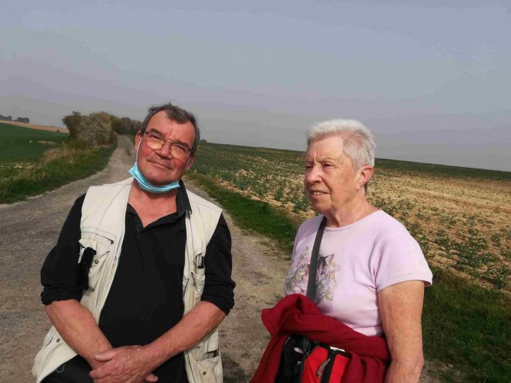 Le couple a également importé dans l'Aisne au début des années 2000 le concept des marches populaires.