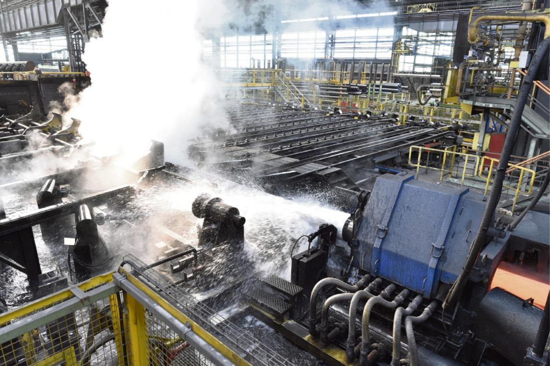 Le projet de Samfi-Invest reprendrait le cœur de métier de Vallorec : le traitement thermique des tubes. (Photo Vallourec)