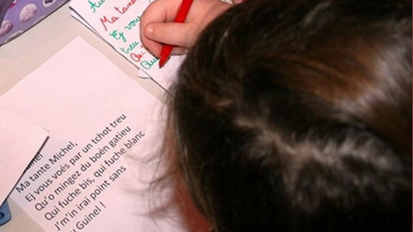 La loi Paul Molac, votée ce jeudi 8 avril, constitue une avancée pour les langues régionales. En Picardie, l'Agence régionale de la langue picarde se fait fort d'assurer la promotion de celle-ci, comme ici à Naours, lors d'une intervention périscolaire.