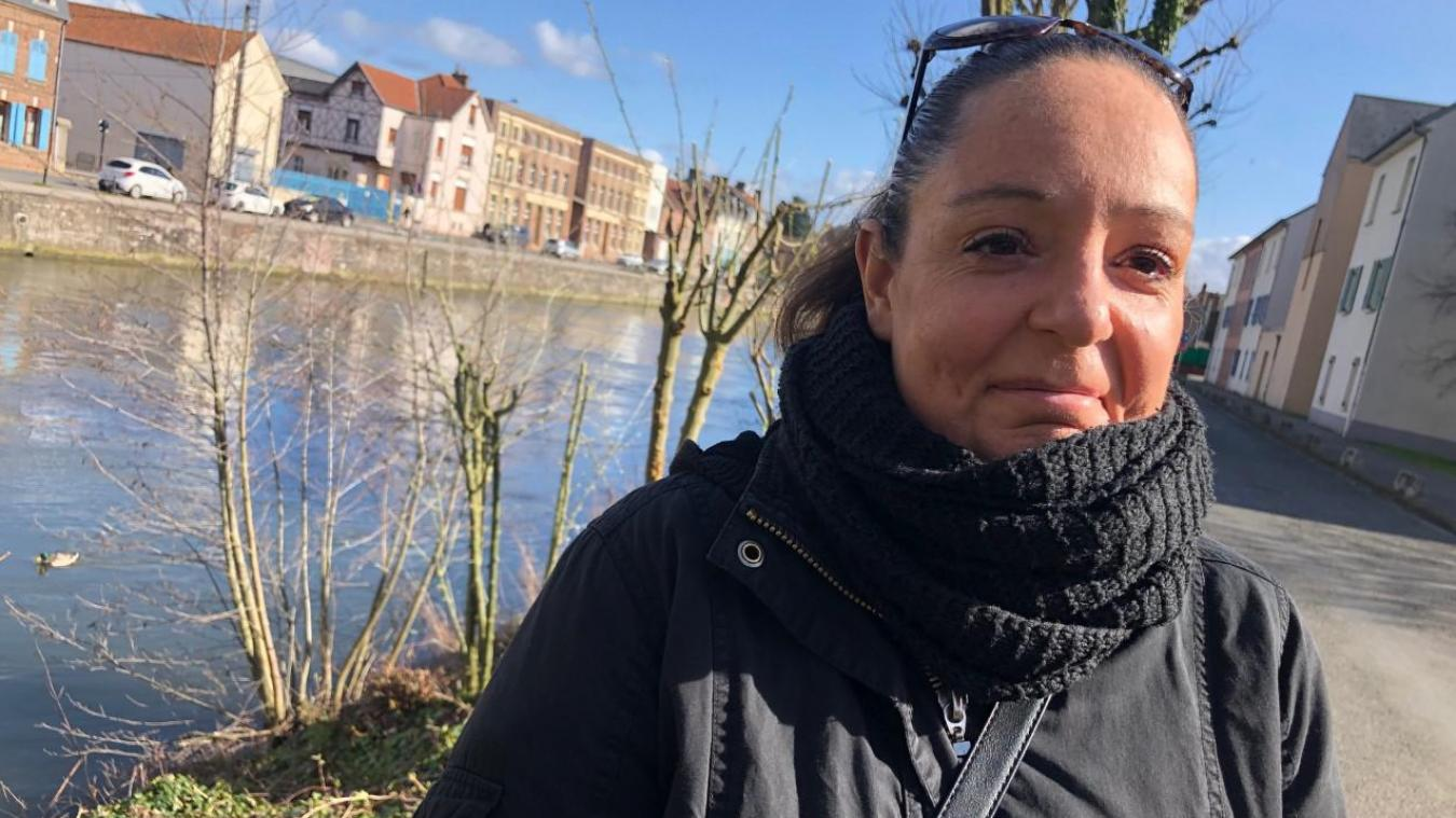 Sandrine Paris, Abbevilloise, est bénévole depuis deux ans pour le réseau SOS Faune sauvage.