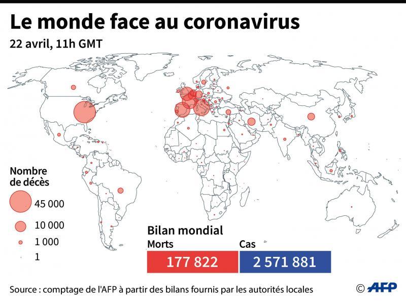 Coronavirus, 1 110 décès en Chine. QUI: le nom est Covid19.